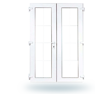 French White Door