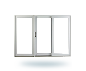 Sliding Three Panel Window